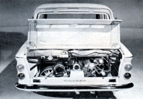 Hillman Imp engine compartment
