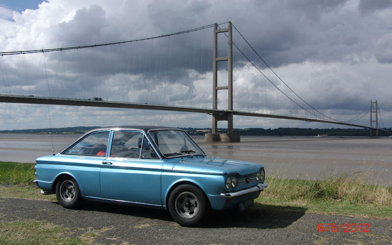 Sunbeam Stiletto at Humber Bridge