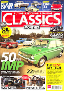 Classics Monthly, July 2013, front cover