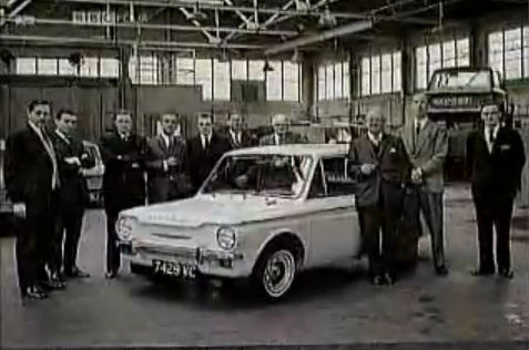 The boffins of the Hillman Imp